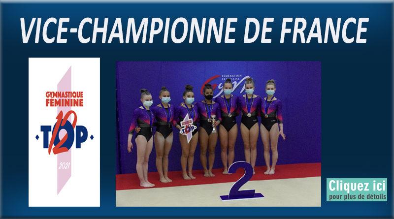 TOP12 – MEAUX Vice-Championne de de FRANCE