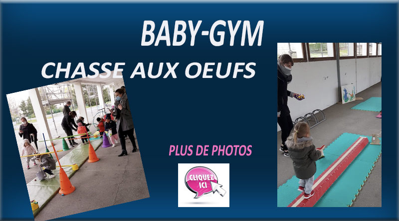BABY-GYM Chasse aux oeufs